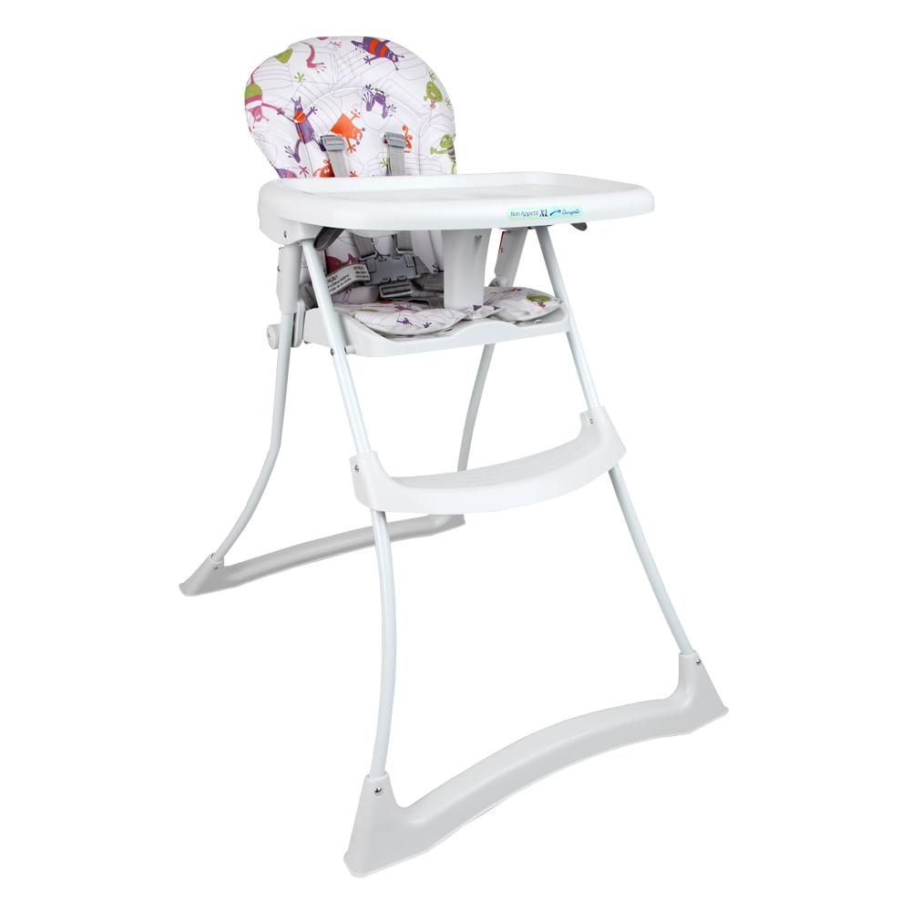 Cadeira Refeição Bon Appetit XL Burigotto Monstrinhos