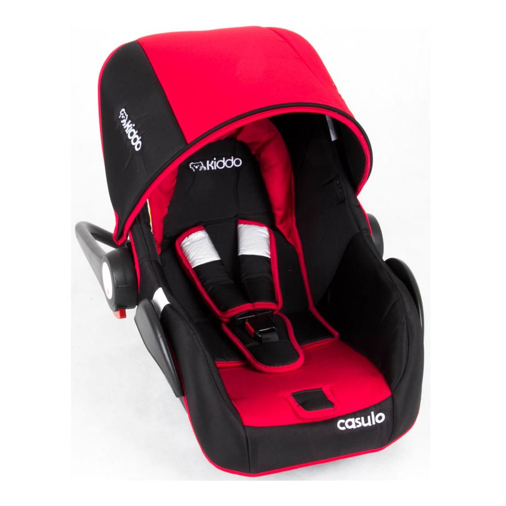 Bebê Conforto Casulo Compass II Lenox para Carrinhos Vermelho 0 à 13kg