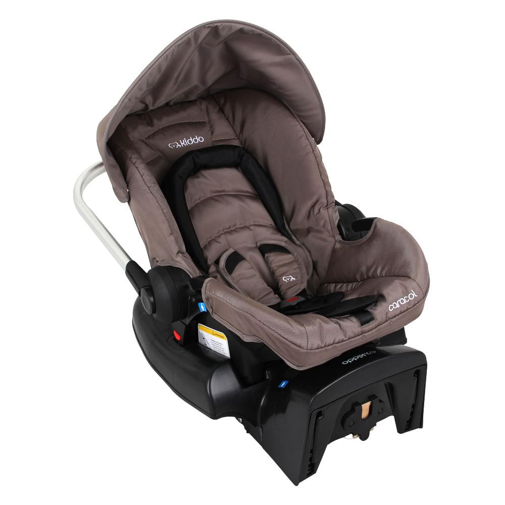 Bebê Conforto Caracol + Base Lenox Capuccino 0 à 13kg