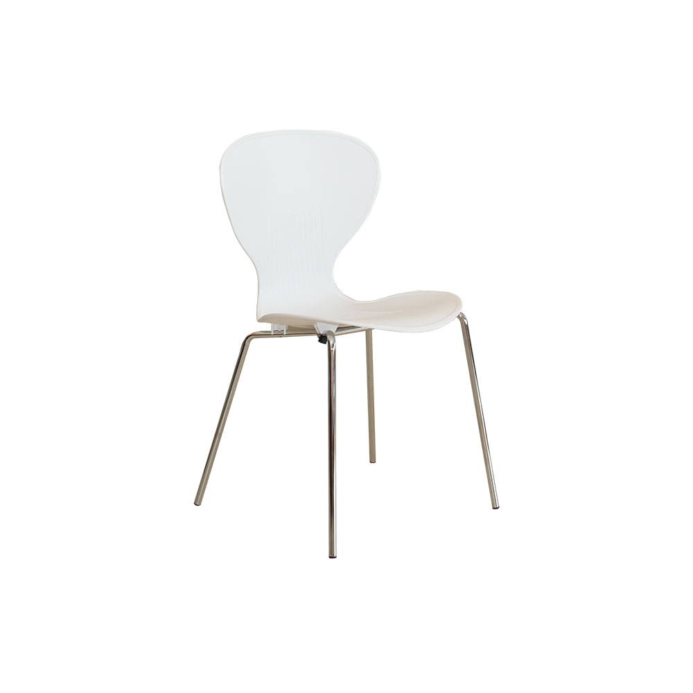 Cadeira Formiga Polipropileno Branco - Or 3301