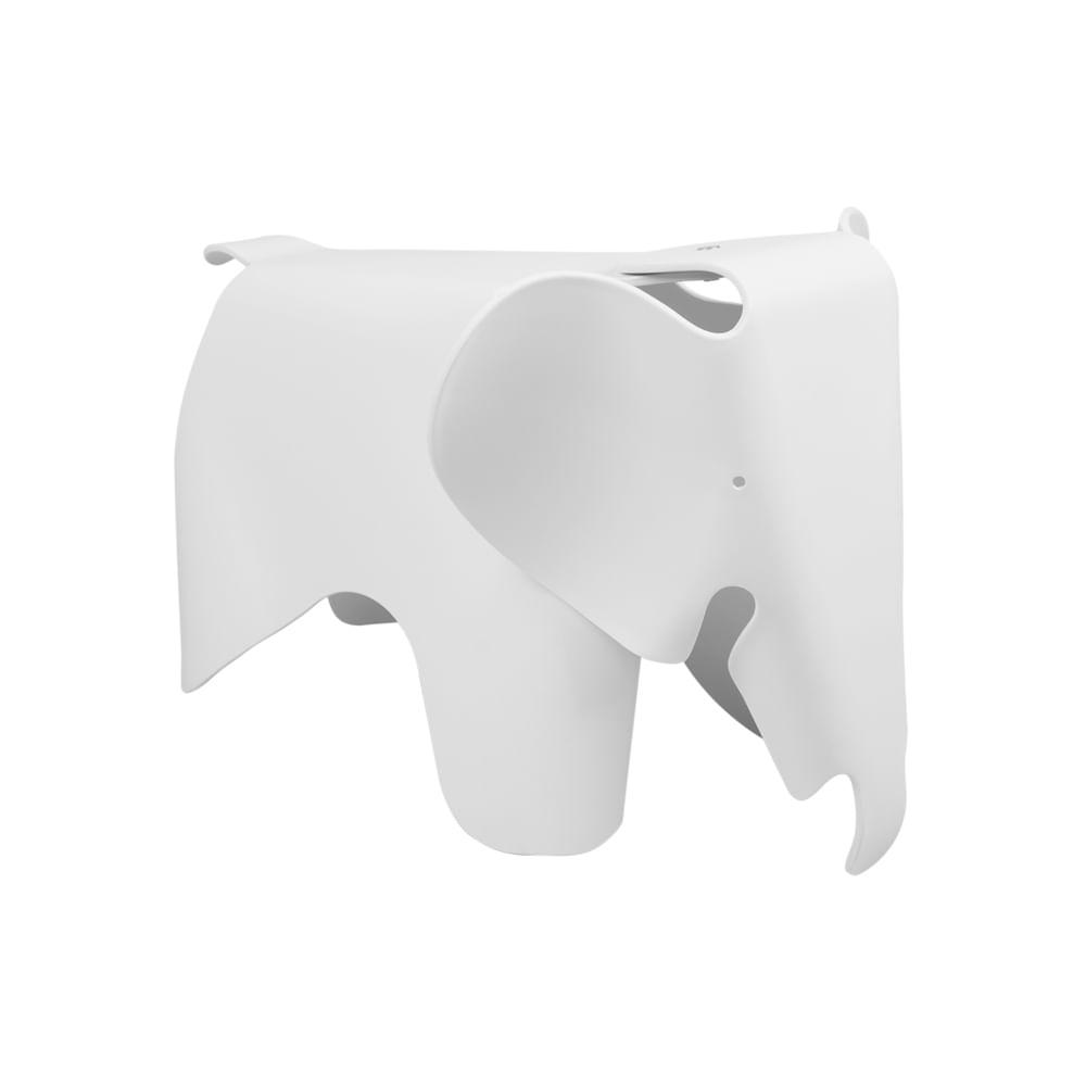 Poltrona Elefante Baby Branca
