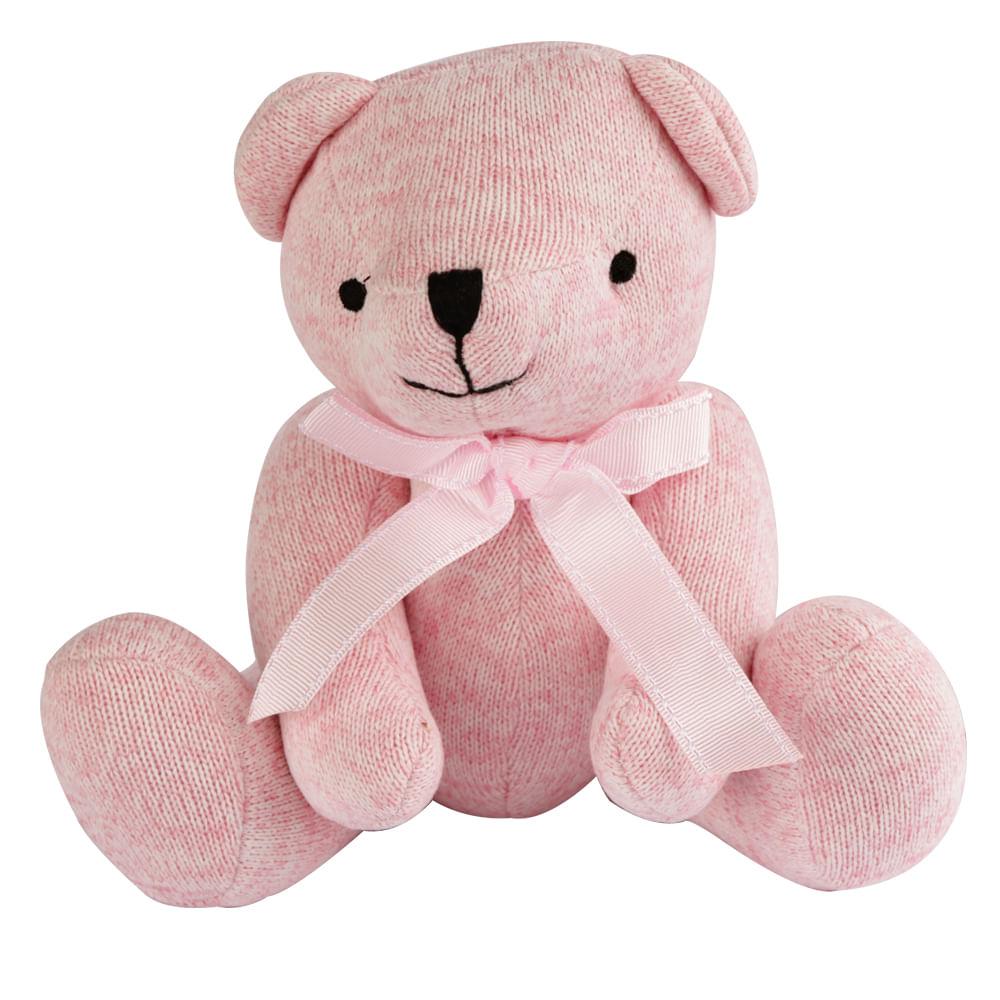 Ursinho Abraço Rosa