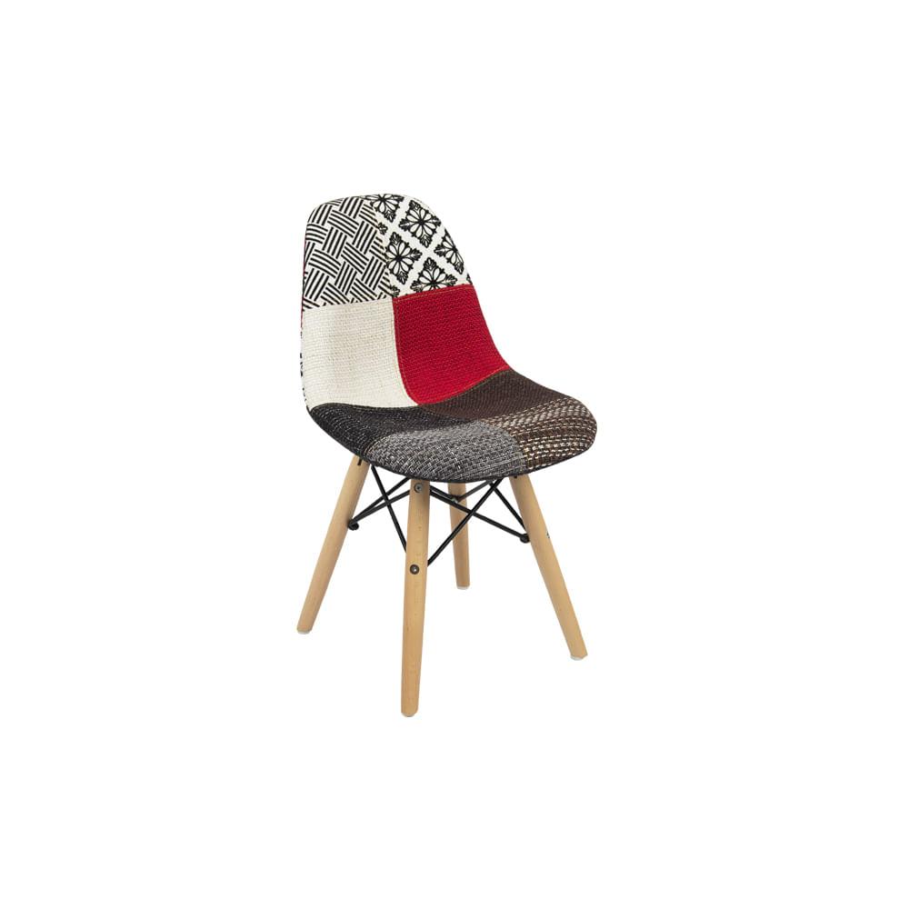 Cadeira Eiffel Patchwork Infantil - Pc0117wb