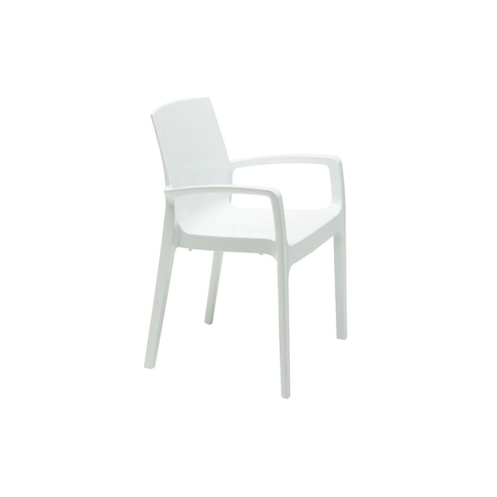 Cadeira Femme com Braço Branca