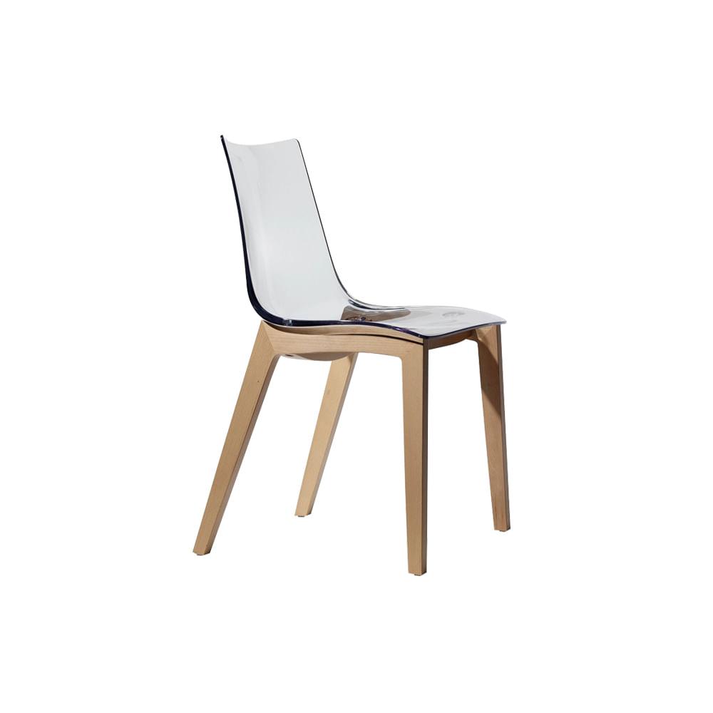Cadeira Zebra Transparente