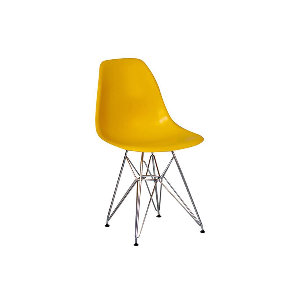Cadeira Eiffel Infantil Amarela