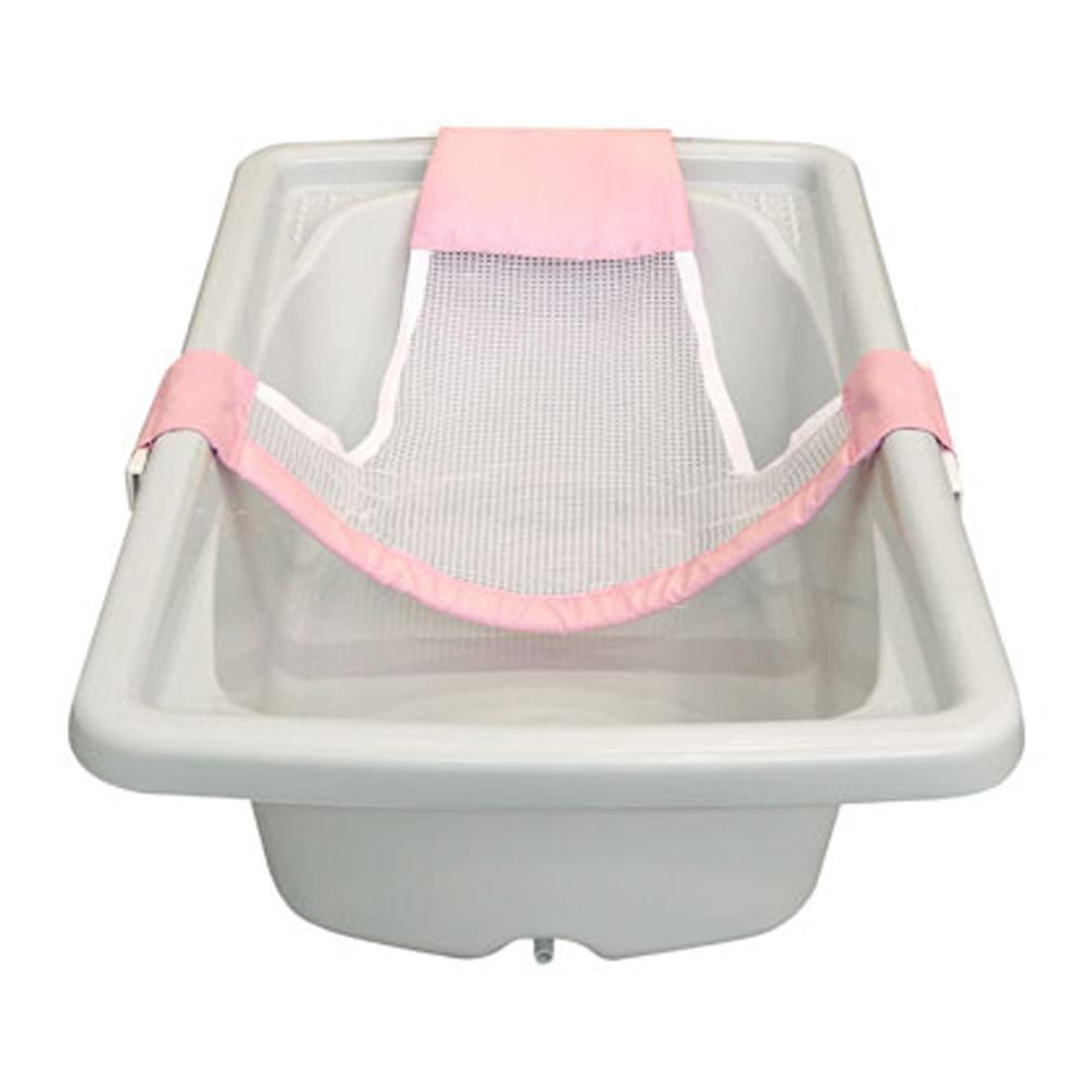 Rede de Proteção para Banho Rosa