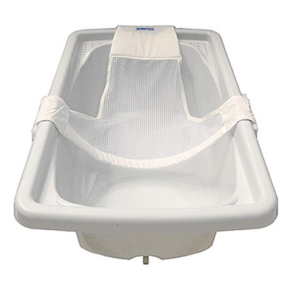 Rede de Proteção para Banho Branca