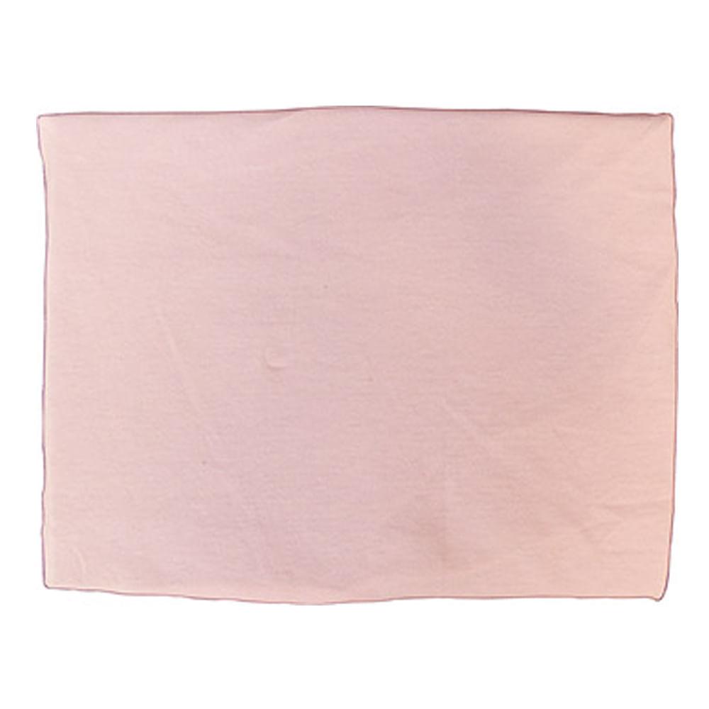 Lençol com Elástico Malha para Mini Cama Rosa
