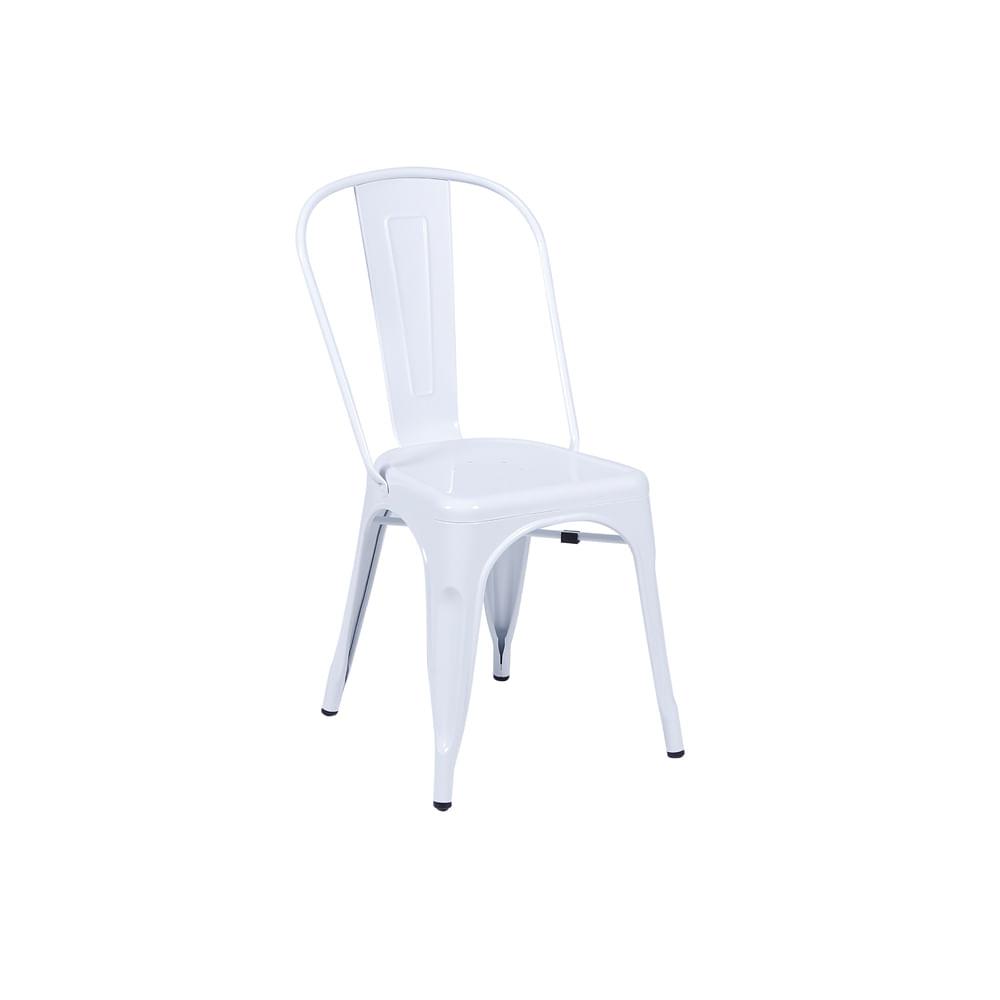 Cadeira Tolix Branca Nova Versão - Or 1117