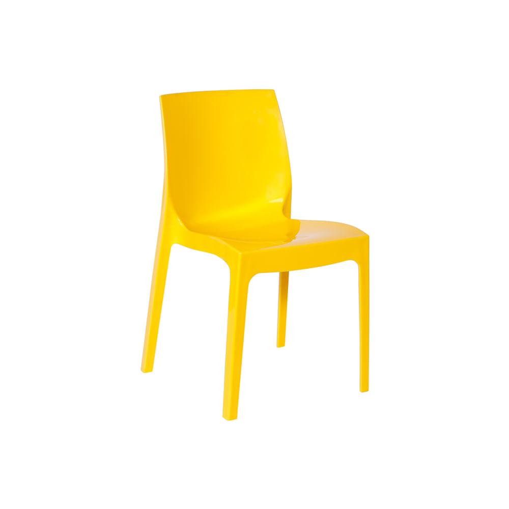 Cadeira Femme Amarela