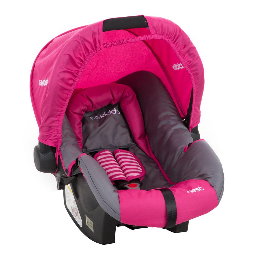Bebê Conforto Nest para Zap Rosa 0 à 13kg