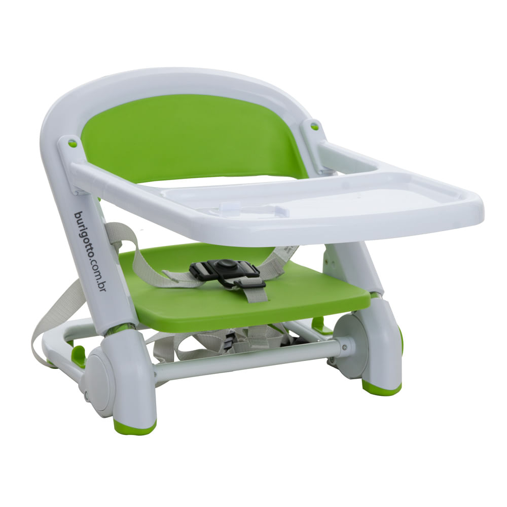 Assento Refeição Bistrô Altura Multi Posições Verde + Bolsa