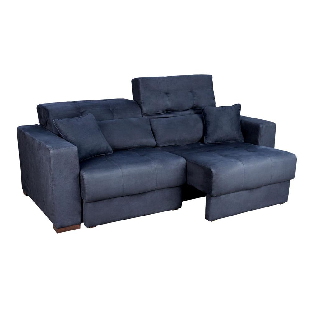 Sof estofado linoforte spazzio nobre e mais pre os for Sofa 6 lugares reclinavel e assento retratil roma suede amassado marrom orb