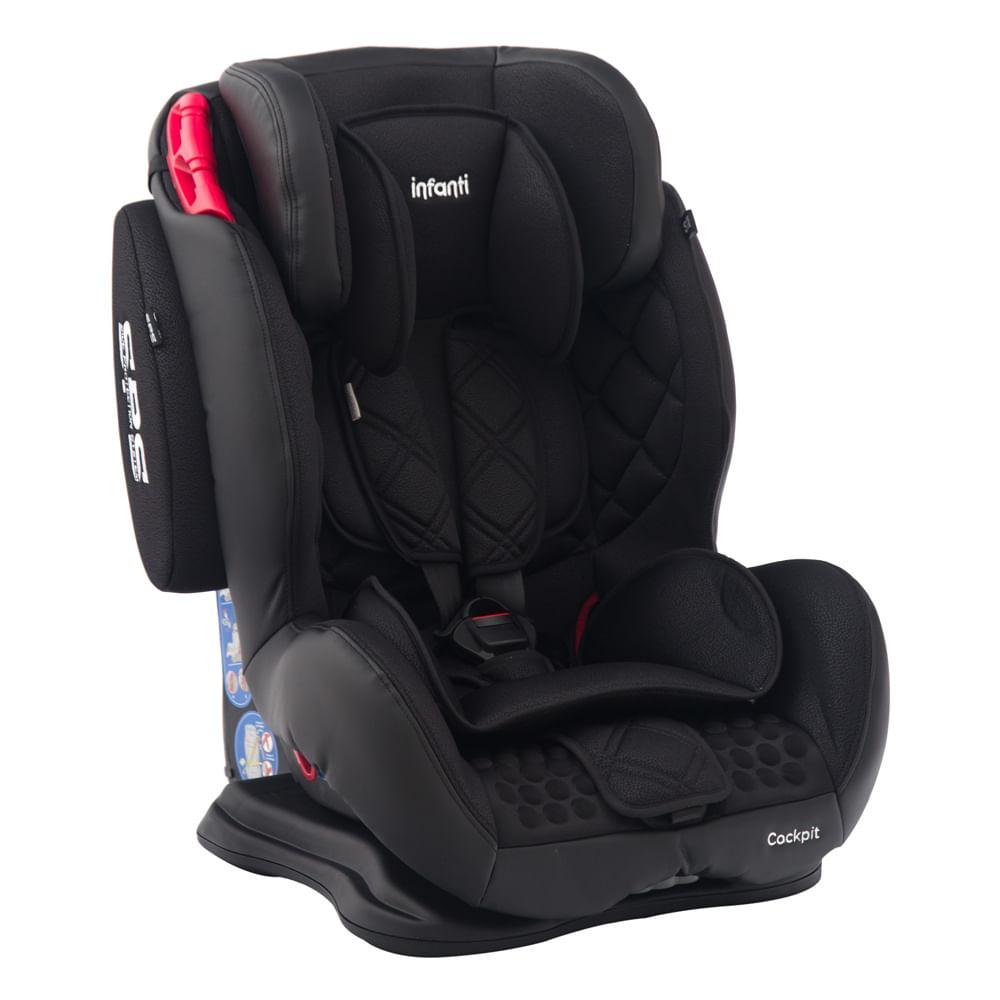 Cadeira para Auto Cockpit 3 Posições Carbon 9 à 36kg