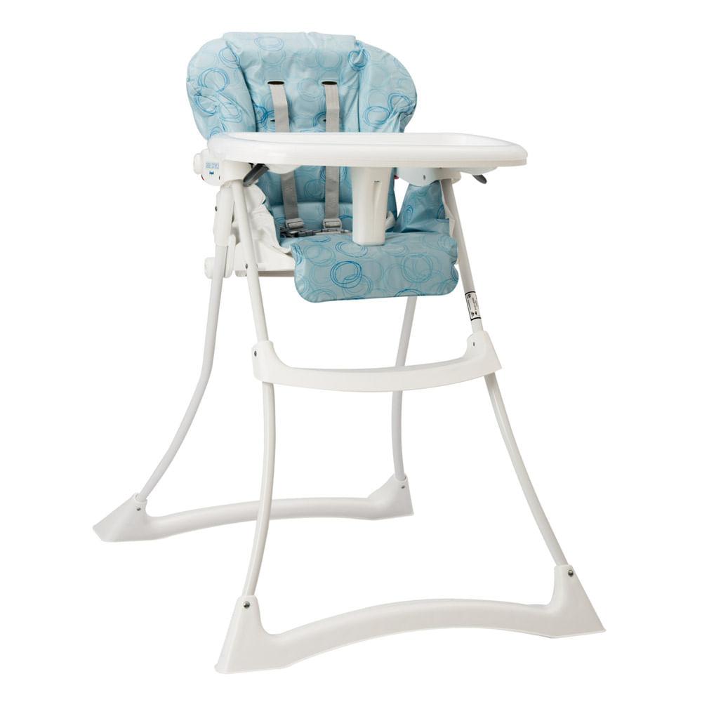Cadeira de Refeição Papa e Soneca Circles Azul