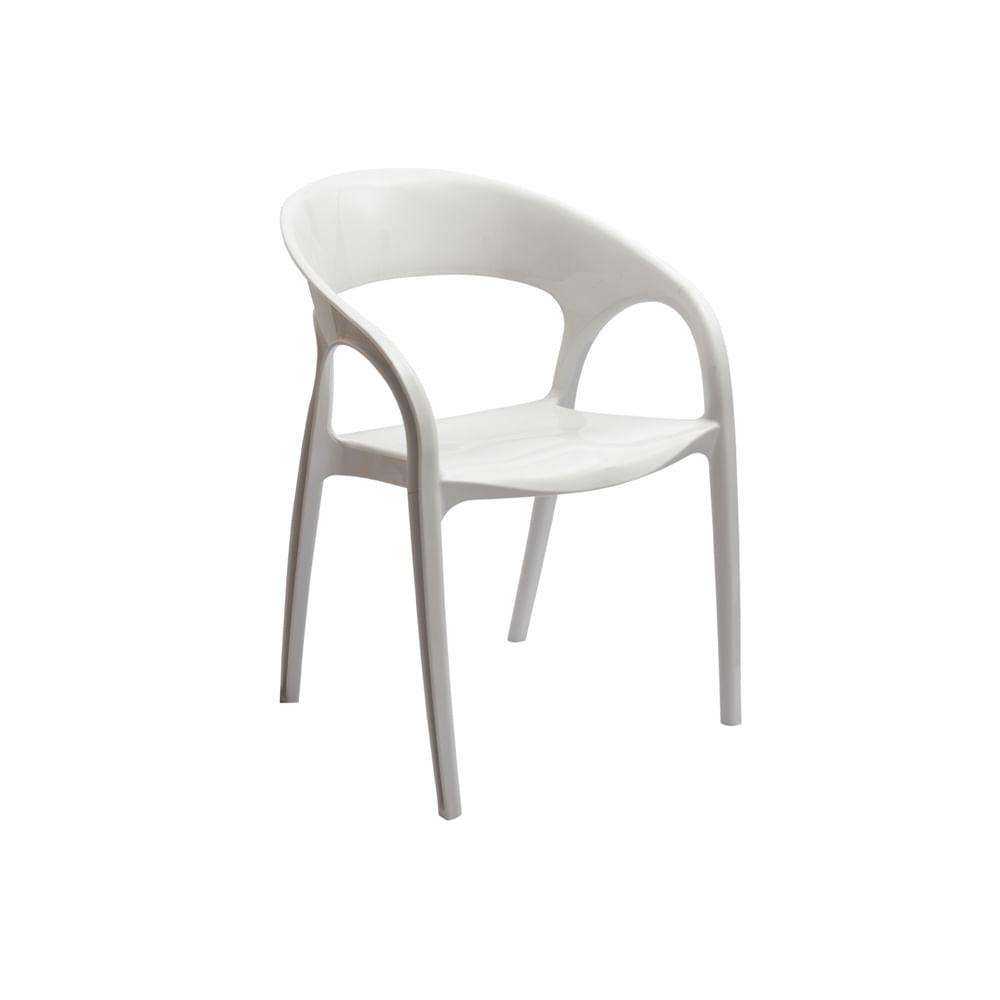 Cadeira Kiko Plus Branco Sólido