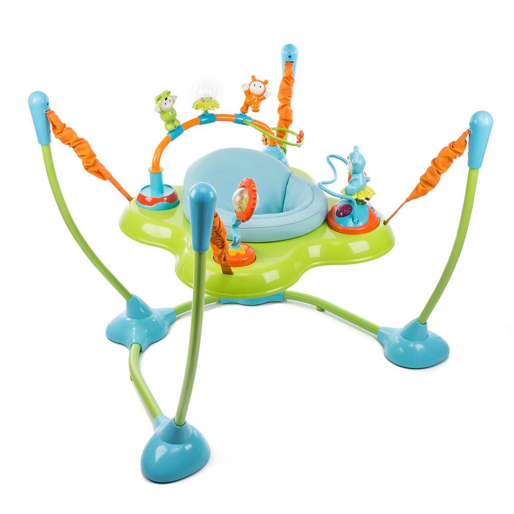Jumper Play Time Blue Assento Giratório com Luz e Sons (6 meses a 15kg)