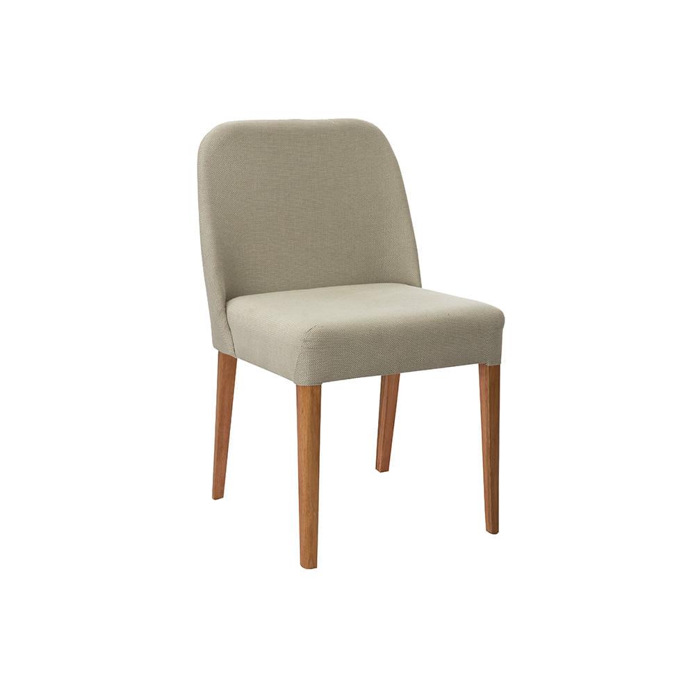Cadeira Ecco Tecido Linho