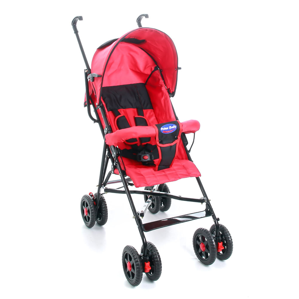 Carro Passeio Umbrella Stillo 2 Posições Vermelho - 0 a 15kg