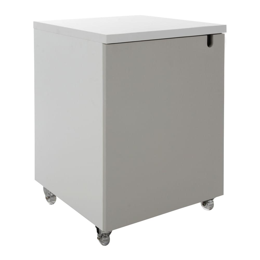 Módulo Contemp 425mm 1 Porta Lacca Acetinada Off White