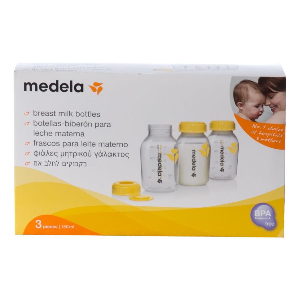 Frasco para coleta de leite 150 ml (3 unidades) Medela