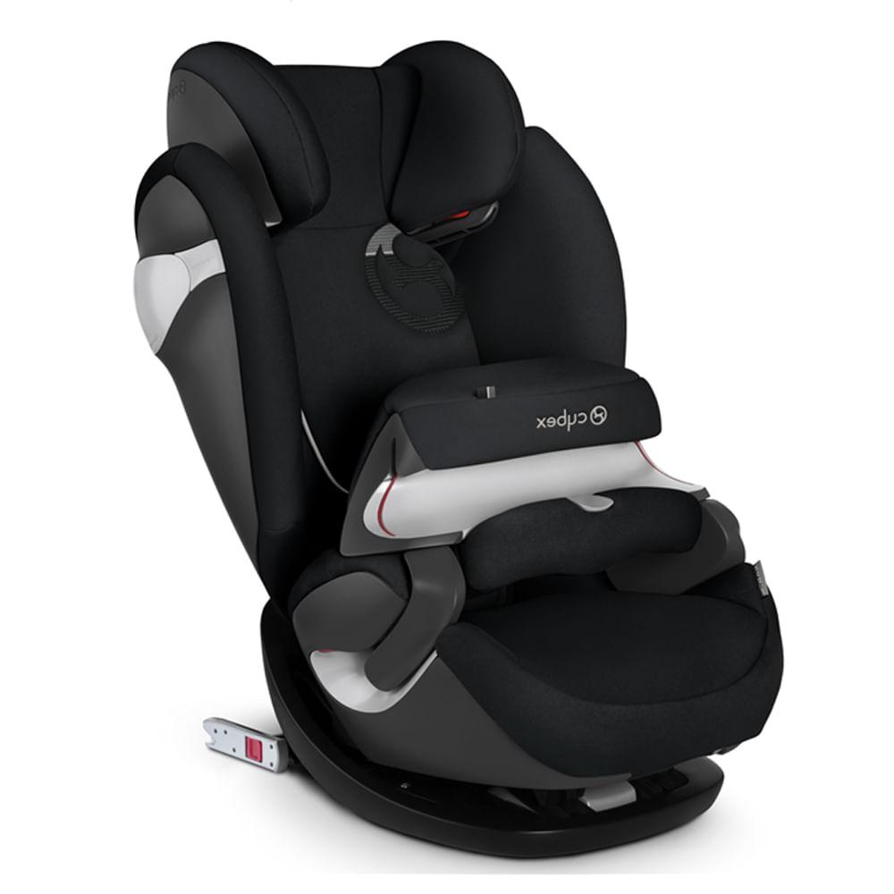 Cadeira P/Auto Pallas M-Fix Preto - Cinto do Carro e Isofix (9 A 36kg)