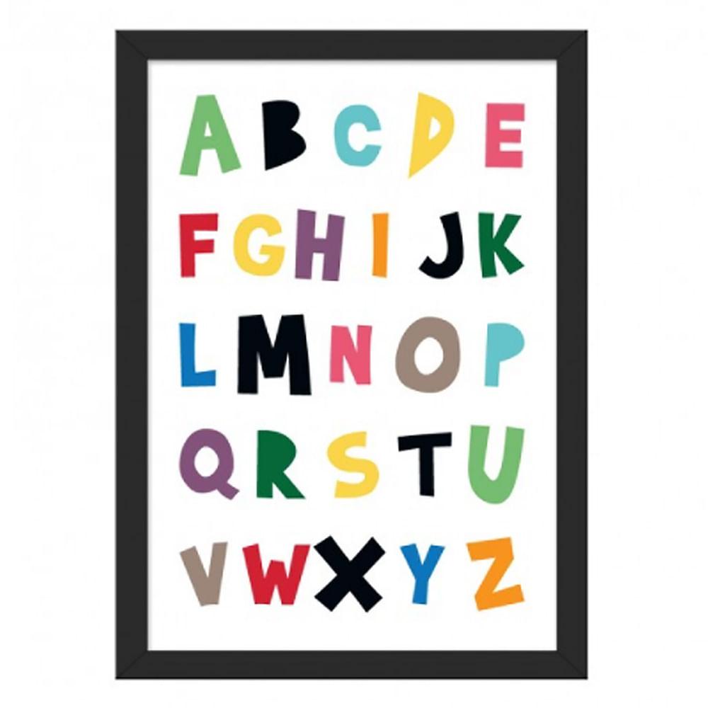 Quadro ABC A4 (24cm x 33cm)