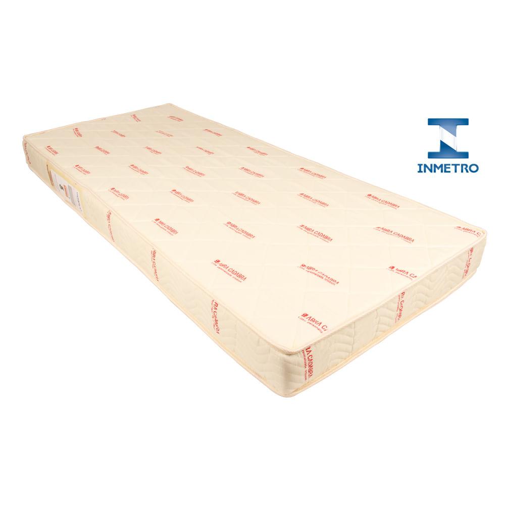Colchão Inmetro Ultra Premium (78x176x15) Cama Aux. Contemporânea Master - 90kg