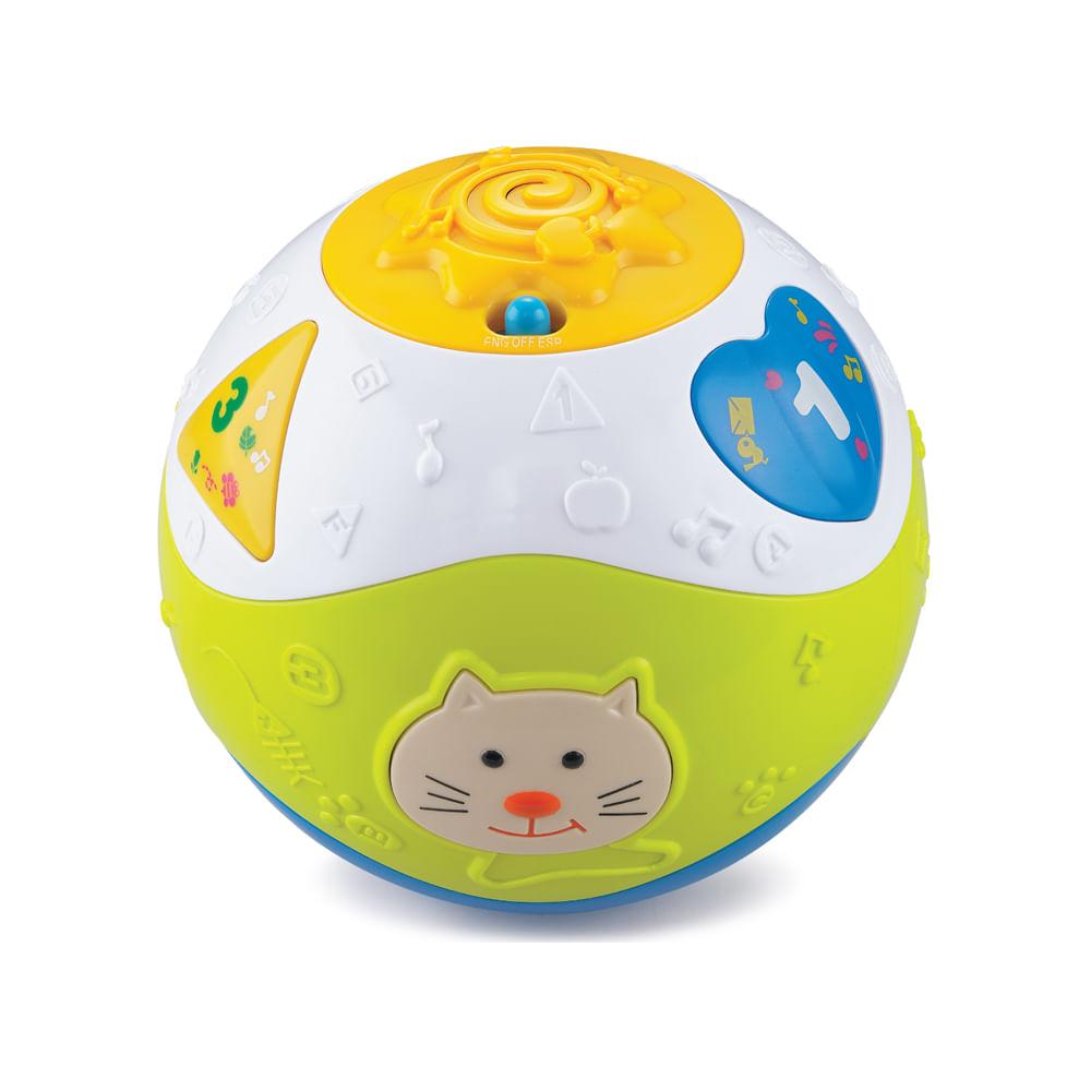Bola Divertida de Atividades Formas e Sons Zoop Toys