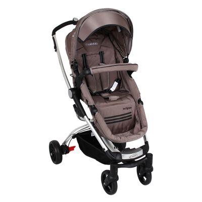 Carrinho de Bebê Eclipse 3 Posições Alumínio Capuccino Lenox Kiddo