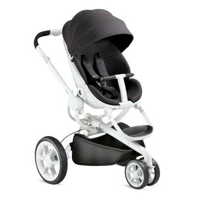 Carrinho de Bebê Alumínio 3 Posições Moodd Quinny Black Irony