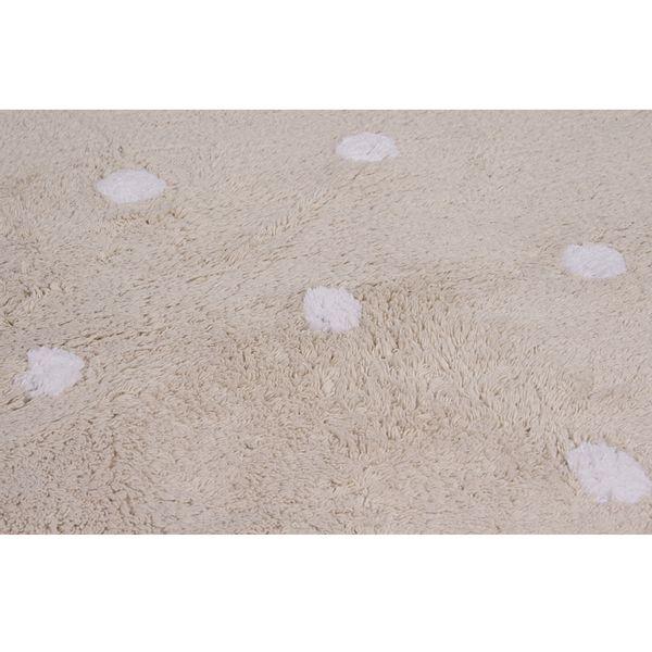 Tapete Galleta Crema Beige Cotton 1,20 x 1,60