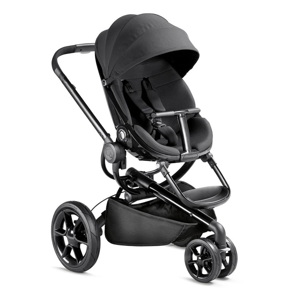 Carrinho de Bebê Alumínio 3 Posições Moodd Quinny Black Devotion