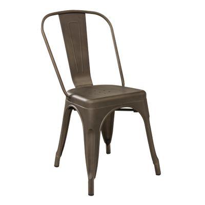 Cadeira Tolix Ferrugem Vintage Nova Versão - Or 1117