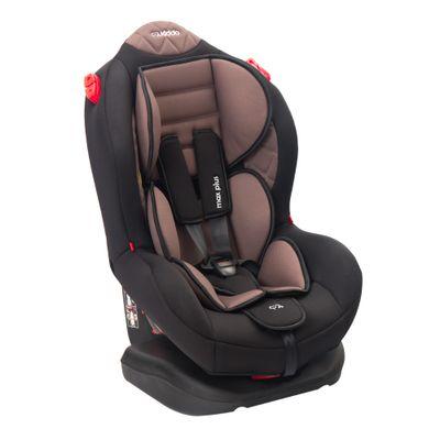 Cadeira para Auto Max Reclinável 5 Posições Lenox Preta com Marrom