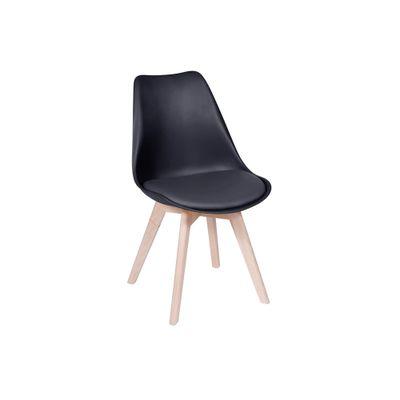Cadeira Leda Nova Versão Preta - Or 1108