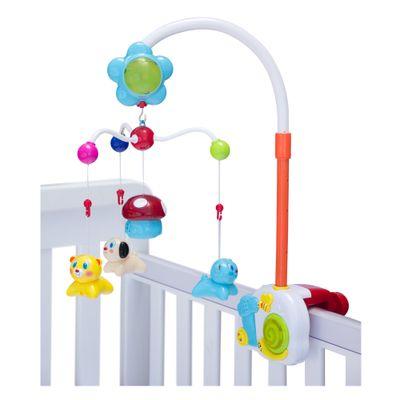 Móbile Musical Bichinhos e Cogumelo Zoop Toys