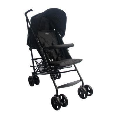 Carrinho de Bebê Alumínio Sprinter 4 Posições Preto Burigotto