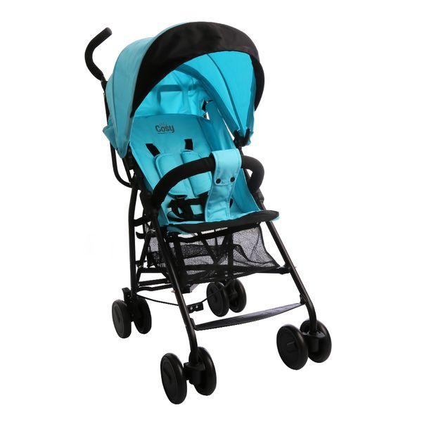 Carrinho de Bebê Passeio Cosy 2 Posições Blue Summer Burigotto