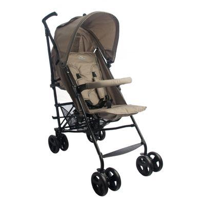 Carrinho de Bebê Alumínio Sprinter 4 Posições Capuccino Burigotto