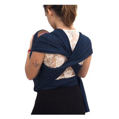 Carrega Wrap Sling Dry Fit Azul Marinho