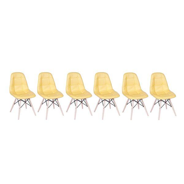Conjunto-6-Cadeiras-Eames-Eiffel-Botone-Amarelo