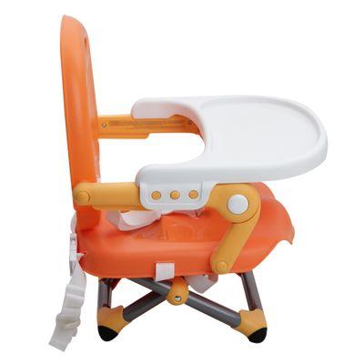 Assento-Elevatorio-Para-Refeicao-Chicco-Pocket-Snack-Mandarino-0-a-15kg