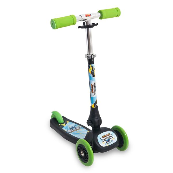 Patinete-Scooter-Net-Mini-Racing-Club-Preto-e-Verde