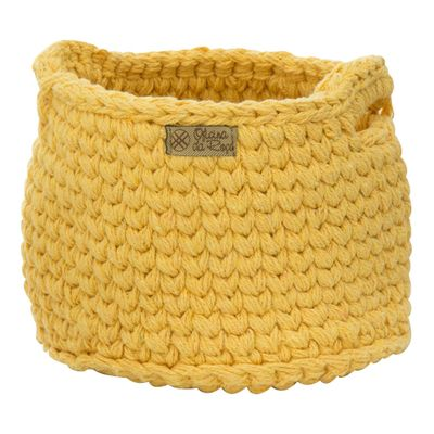Cesto-Croche-Pequeno-Amarelo