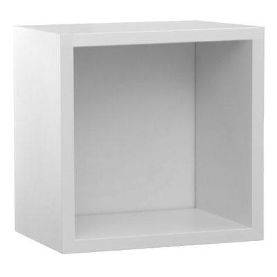Prateleira-Quadrado-Branco-Fosco--28cm-x-28cm-x-16cm-