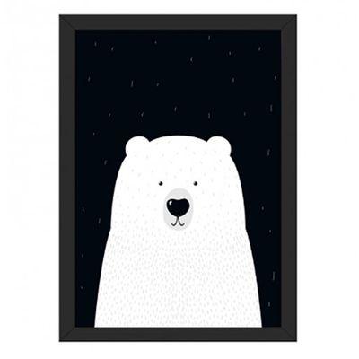 Quadro-Urso-A4--24cm-x-33cm-