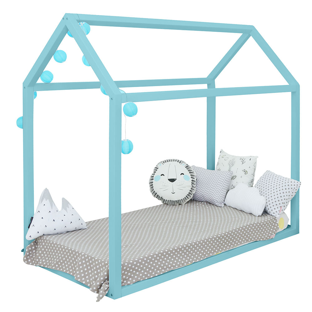 Mini-Cama-Montessoriana-Azul-Fosco
