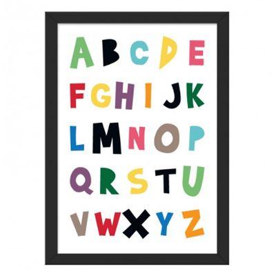 Quadro-ABC-A4--24cm-x-33cm-